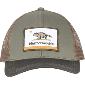 Marmot Republic Trucker Crocodile/Rosin Green